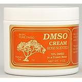 DMSO Cream Rose Scented - 4 oz