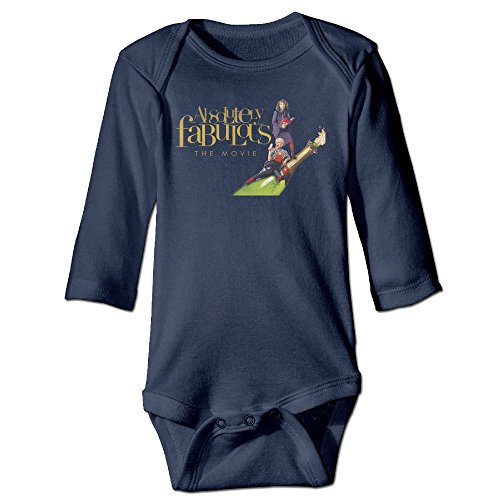 DETED Absolutely Fabulous Cute Newborn Baby Romper Jumpsuit Size12 Months Navy