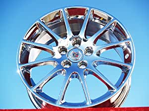 Cadillac CTS: Set of 4 genuine factory 18inch chrome wheels