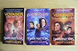 img - for Star Trek Voyager, Dark Matters, 3 volume set book / textbook / text book