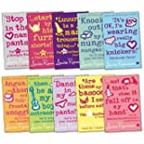 Georgia Nicolson Pack, 10 books, RRP £69.90 (including Angus, Thongs and Full Frontal Snogging; Are These My Basoomas?; Dancing In My Nuddy-Pants; It's OK I'm Wearing Really Big Knickers; Knocked Out By My Nunga-Nungas; and more).