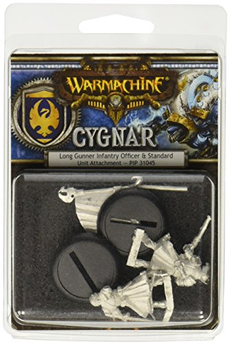 Privateer Press Warmachine: Cygnar Long Gunner Unit Attachment Model Kit - 1