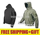 men`s winter Tad gear outdoor waterproof windproof softshell fleece jacket ski windbreaker tactical military army coat hoodie