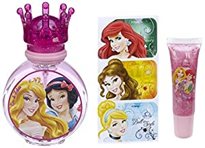 DISNEY Princess Set Eau de Toilette 30 ml/ Stickers/ Lip Gloss
