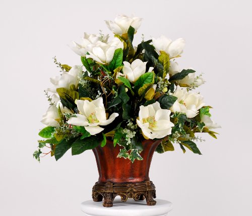 Artificial Magnolia Centerpiece
