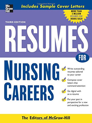 Resumes For Nursing Careers (Mcgraw-Hill Professional Resumes)