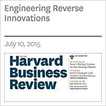 Engineering Reverse Innovations (       UNABRIDGED) by Amos Winter, Vijay Govindarajan Narrated by Todd Mundt