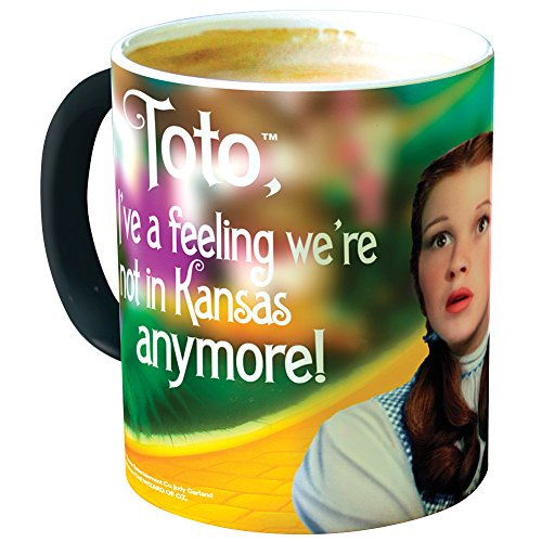 Wizard Of Oz Dorothy And Toto Morphing Mug - Morphs From Black To Full-Color