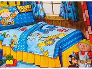 Amazon Com Bob The Builder Toddler Bed Set 4 Pc