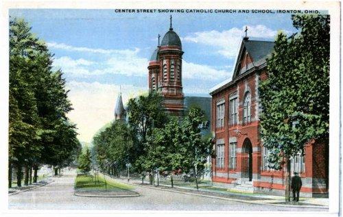Center Street in Ironton, Ohio