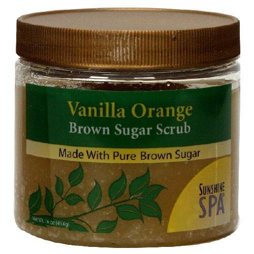 Herb Sugar Scrub-Vanilla Orange – 16 oz -