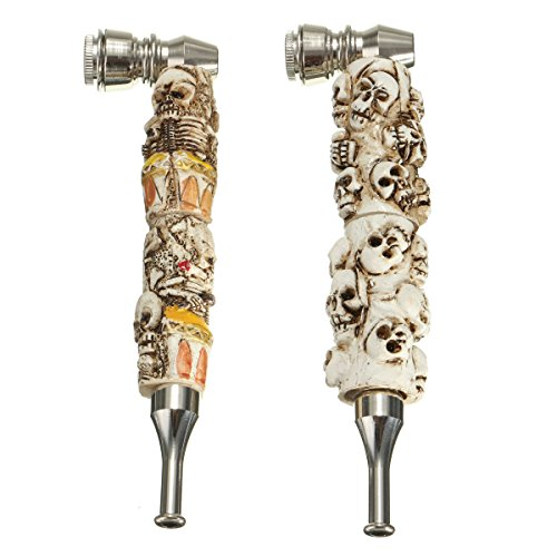 Saver-Resin-Enchase-Portable-Skull-Style-Tobacco-Pipe-Smoking-Pipe-2-Colors
