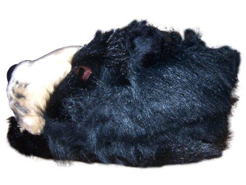 Cheap Happy Feet – Black Bear – Animal Slippers (B0064MLK20)
