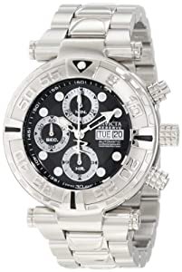 Invicta Men's 10476 Subaqua Noma I Reserve Automatic Chronograph Black Dial Stainless Steel Watch