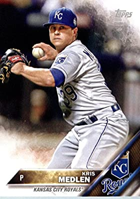 2016 Topps Team Edition #KCR-11 Kris Medlen Kansas City Royals Baseball Card