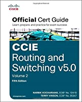 CCIE Routing and Switching v5.0 Official Cert Guide, Volume 2 (5th Edition) Front Cover