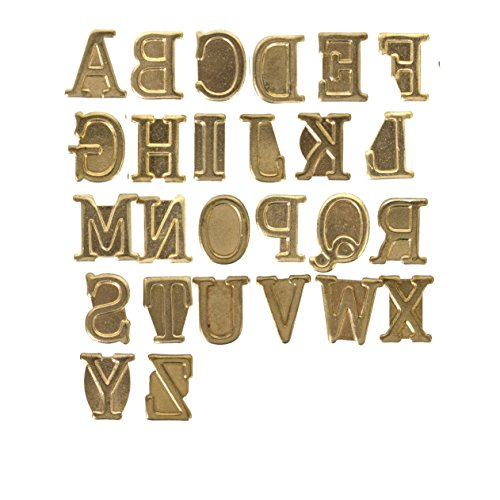 Walnut Hollow Hotstamps Uppercase Alphabet Branding and Personalization Set for Wood and other Surfaces (Versa Tool compare prices)