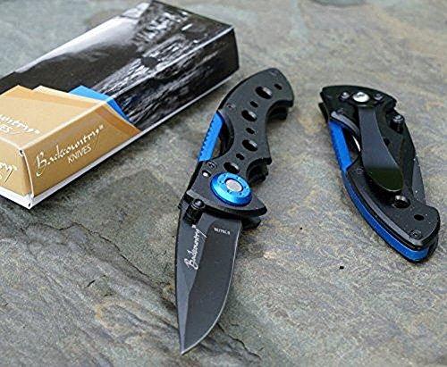 Backcountry Scout ::: blue folding knife - LIFETIME GUARANTEE*