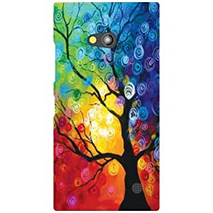 Nokia Lumia 730 Back Cover - (Printland)