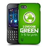 Head Case Generation Green Various Advocacy Back Case Cover For Blackberry Q5