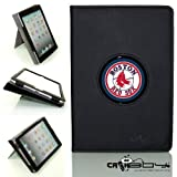 New SLEEP SMART Apple iPad Mini & iPad Mini with Retina leather Case By Calaboy- Interchangeable Design - Personalized Picture Frame w Boston Red Sox Logo (bb3) at Amazon.com