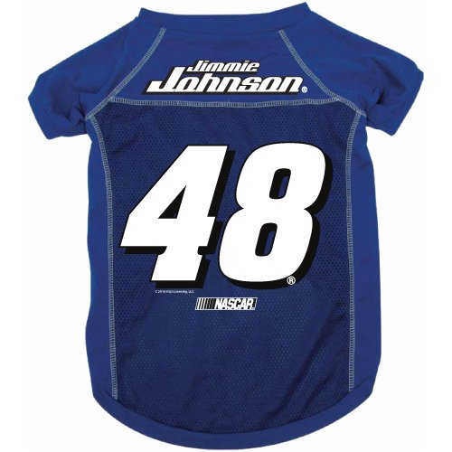 Nascar Jimmie Johnson Pet Jersey With Patch, Team Color, X-Large front-955886