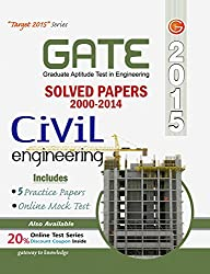 GATE Paper Civil Engg. 2015 Solved Paper 2000-2014 Include 5 Practice Set