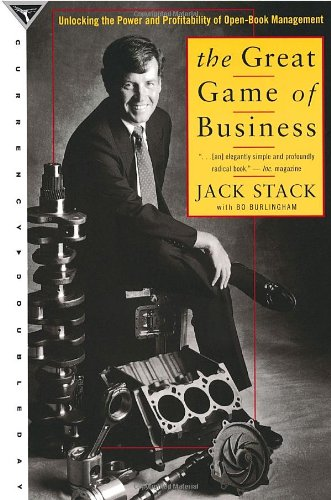The Great Game of Business: Unlocking the Power and Profitability...