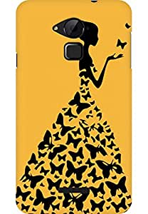 AMEZ designer printed 3d premium high quality back case cover for Coolpad Note 3 (skin colour princess)