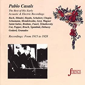 3 Pieces for Cello and Piano, Op. 11: Spanish Serenade
