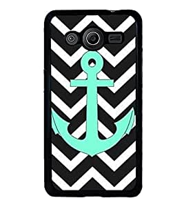 Anchor 2D Hard Polycarbonate Designer Back Case Cover for Samsung Galaxy Core 2 G355H :: Samsung Galaxy Core II :: Samsung Galaxy Core 2 Dual