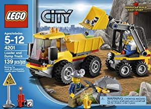 LEGO City 4201 Loader and Tipper from LEGO City