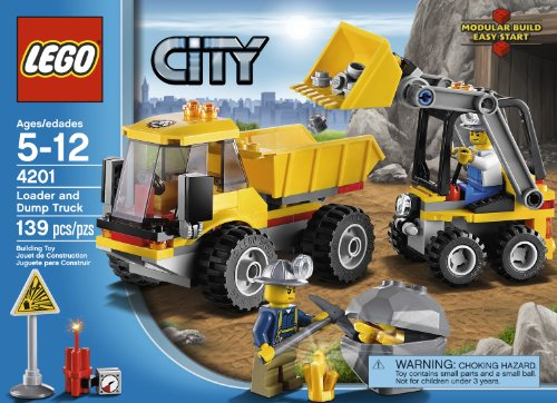 LEGO City 4201 Loader and Tipper Amazon.com