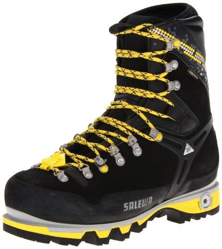 Salewa Men's MS Pro Guide W Mountaineering Boot, Black/Yellow, 9 W US discount price 2016