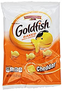 Amazon.com: Pepperidge Farm Goldfish, Cheddar, 1.5 Ounce