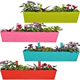 Trust basket Rectangular Planter set of 4 multicolor 23*6 inch