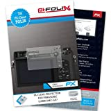 AtFoliX FX-Clear screen-protector for Panasonic Lumix DMC-GX7 (3 pack) - Crystal-clear screen protection!