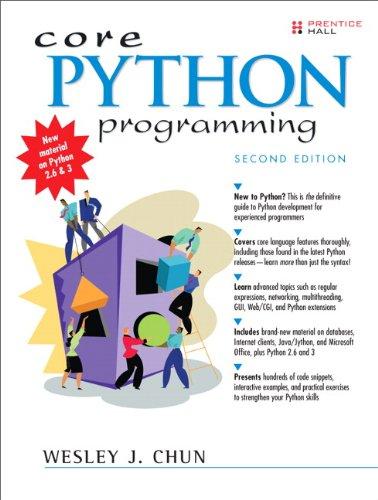 Core Python Programming  0132269937 pdf