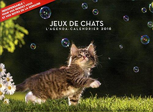 french gratuit pdf l 39 agenda calendrier 2016 jeux de chats. Black Bedroom Furniture Sets. Home Design Ideas