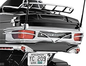 Kuryakyn 8666 Colossus Rear Trim for Ultra Tour-Pak
