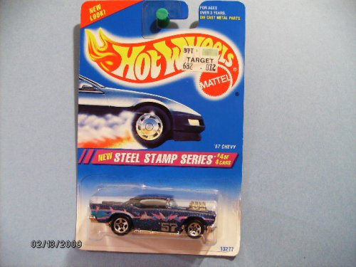 Hot Wheels 1957 Chevy Steel Stamp Series Collector #290