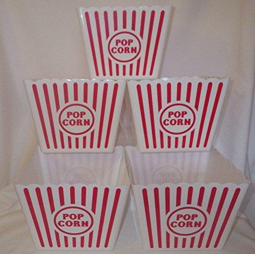Large Plastic Popcorn Tub - 8.5