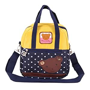 Generic New Cute Cartoon Bear Kids Children Bag For Boys Girls Baby Backpack Schoolbags Lunch Box Backpack