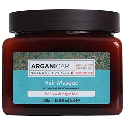 Arganicare Argan Oil Hair Masque for Dry & Damaged Hair (16.9 oz.) by Aderet-Peer Pharm