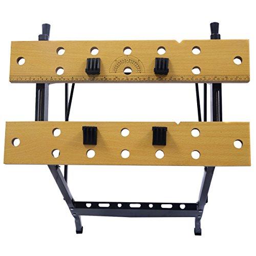 New Folding Work Bench Table Tool Garage Repair Workshop