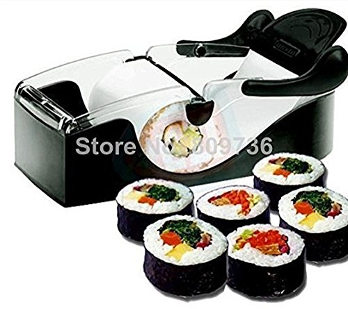 Perfect Hot Easy Roll Sushi Maker Roller Machine DIY Easy Kitchen Magic Gadget Kitchen Tool