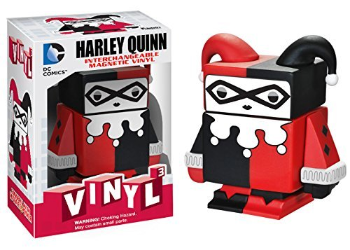 "Harley Quinn ~1.6"": DC Universe x Funko Vinyl Cubed Interchangeable Magnetic Figure"