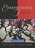 img - for Entrepreneurial Finance: A Casebook by Paul A. Gompers (2001-12-28) book / textbook / text book