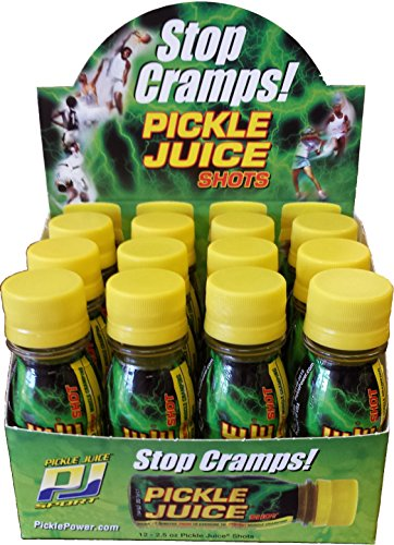 Pickle Juice Extra Strength Shots, 2.5 oz, 12 pack (Pickles In Brine compare prices)