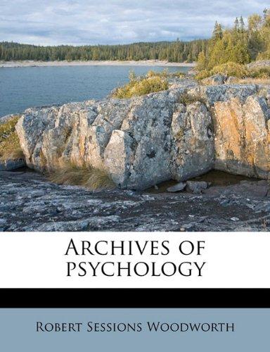 Archives of psychology
